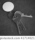 Keys with blank pendant 41714021