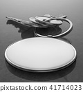 Keys with blank pendant 41714023