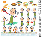 japanese samurai Businessman_cooking 41716482