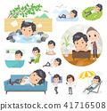 White short sleeved shirt men_relax 41716508