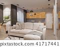 room, living, interior 41717441