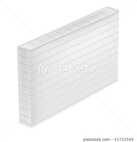 Orthopedic mattress mockup, realistic style 41722504