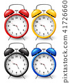 Set of four alarm clocks 41726660