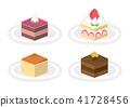 蛋糕 巧克力蛋糕 奶酪蛋糕 41728456