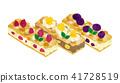 蛋糕 棍棒 甜食 41728519