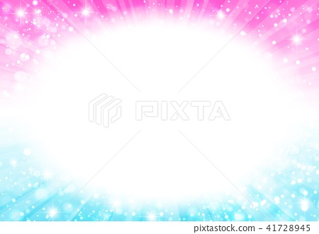 Radial background Middle pink Blue 41728945