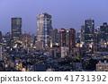 일본 도쿄 도시 경관 롯폰기 힐즈 등의 거리를 원하는 41731392