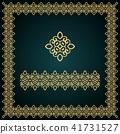 frame, border, golden 41731527