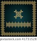 frame, border, golden 41731528