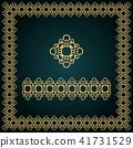 frame, border, golden 41731529