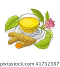 turmeric, illustration, tea 41732307