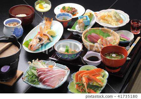 溫泉小屋的日式餐 41735180