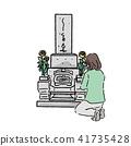 墳塋手繪圖 41735428