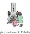 墓看看家庭三插圖 41735429