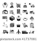 Logistic,Delivery symbol,Transportation icon set 41737081