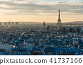 Paris skyline from Notre-Dame Cathedral 41737166
