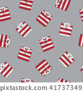 Polo shirt Seamless Pattern vector t-shirt red 41737349