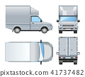 Pickup truck development for shipment. 41737482