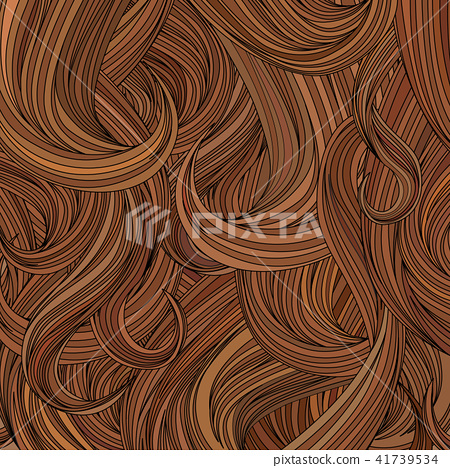 Hair Background Beauty Salon Decorative Wallpaper Stock Illustration 41739534 Pixta