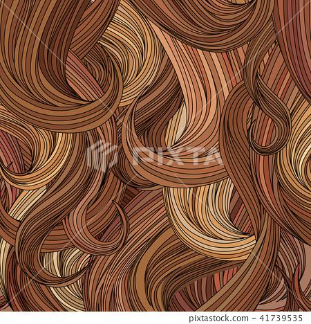 Hair Background Beauty Salon Decorative Wallpaper Stock Illustration 41739535 Pixta