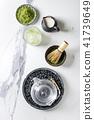 Green tea matcha powder 41739649