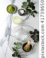 Green tea matcha powder 41739650