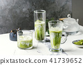 Matcha iced latte 41739652