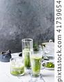 Matcha iced latte 41739654