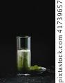 Matcha iced latte 41739657