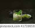 Matcha iced latte 41739658