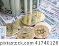 ビットコインとドル 41740126