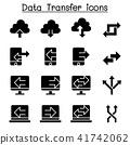 Computer Data Transfer icon set 41742062