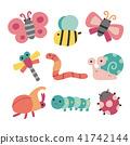 虫子 蝴蝶 蜻蜓 41742144