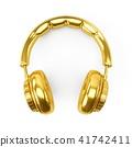 golden, headphones, headphone 41742411
