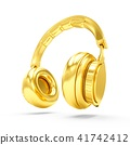 golden, headphones, headphone 41742412