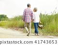 인물, 산책, 노인 41743653