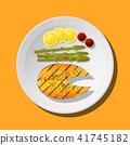 ปลาแซลมอน,แซลมอน,เสต็ก 41745182