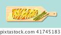 salmon salmo steak 41745183