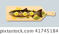 salmon salmo steak 41745184