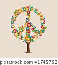 ต้นไม้,ดอกไม้,ความสงบ 41745792