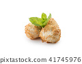 Traditional japanese fried sweet coconut balls 41745976