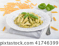 Penne Rigate With Basil Pesto 41746399