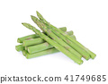 asparagus vegetable isolated on white background 41749685