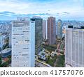 從新宿摩天大樓看的東京夜視圖 41757076