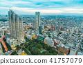 從新宿摩天大樓看的東京夜視圖 41757079