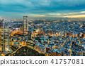 從新宿摩天大樓看的東京夜視圖 41757081