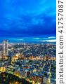 從新宿摩天大樓看的東京夜視圖 41757087