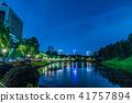 고층 빌딩, 야경, 오피스 거리 41757894
