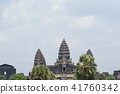 View of Angkor Wat in Cambodia 41760342