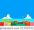 冲绳 背景 海洋 41763542